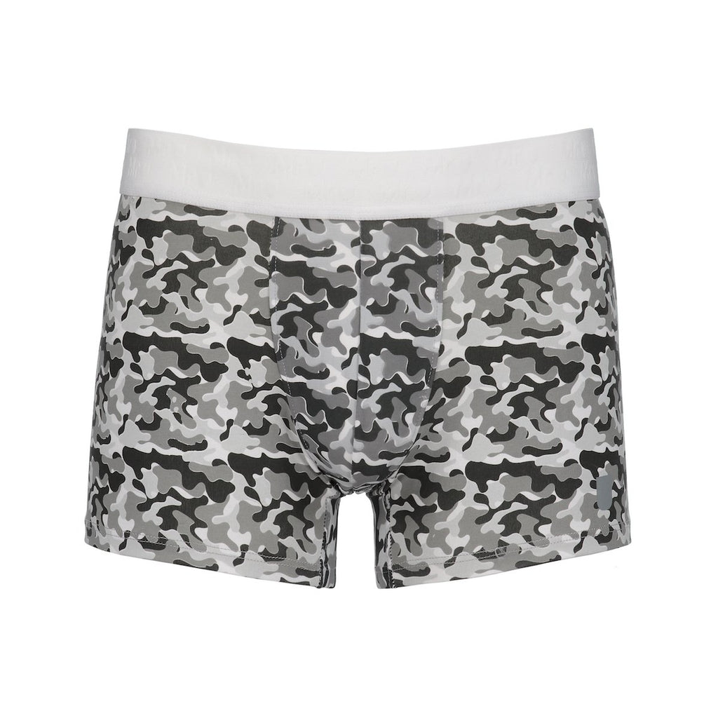 MR.U ARMY BÓXER-BRIEF GRIS - MRU.MX