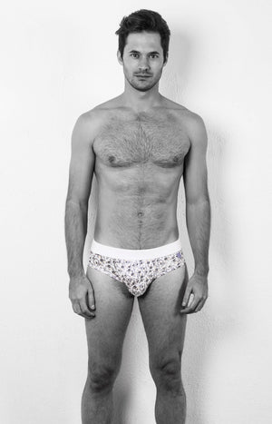 MR.U DANDY BRIEF NEGRO PALMAS - MRU.MX