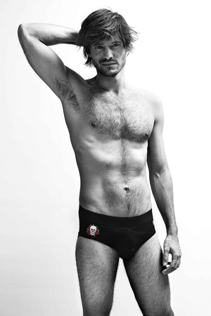 MR.U ROCKER BRIEF NEGRO - MRU.MX