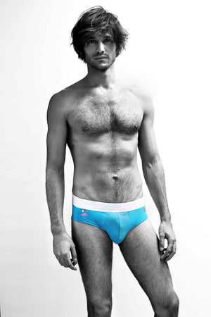 MR.U SURFER BRIEF AZUL - MRU.MX