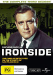 Ironside : Season 3 (DVD, 2010, 7-Disc Set) LIKE NEW