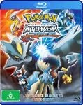 Pokemon The Movie - Kyurem Vs. The Sword Of Justice (Blu-ray, 2013) + Game card