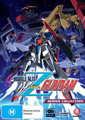 Mobile Suit Zeta Gundam (DVD, 2014, 8-Disc Set) Like New Region 4