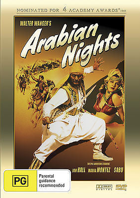 Arabian Nights (1942) - Nominated for Four Academy Awards!