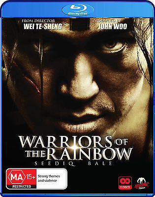 Warriors Of The Rainbow - Seediq Bale (2-Disc Set)  *John Woo* Monster Pictures*