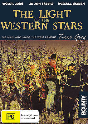 Zane Grey - The Light of the Western Stars (1940) * Victor Jory, Jo Ann Sayers *