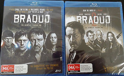 Braquo: The Complete Season 1 and 2 *Blu-ray!* *French - English Subtitles*