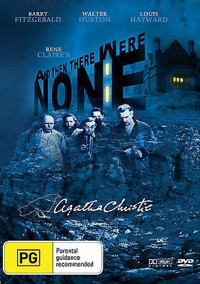 Agatha Christie's AND THEN THERE WERE NONE (1945) * Barry Fitzgerald *