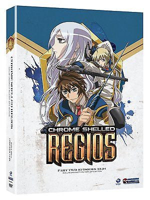 Chrome Shelled Regios: Part Two : Episodes 13-24 Region 1 DVD Like New