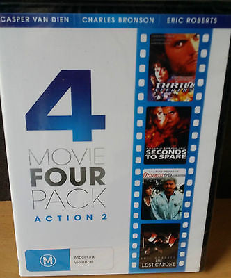 4 Movie Four Pack - Action: Thrill Seekers/Seconds to Spare/Donato&Daughter/MORE