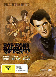 Horizons West (1952) * Rock Hudson * Classic Western *