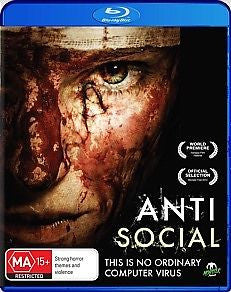 AntiSocial Double Play (DVD / Blu-ray, 2013) * Monster Pictures *