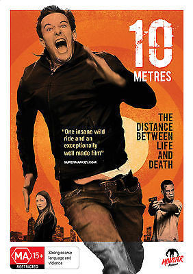 10 Metres (DVD, 2013) * Monster Pictures * Ten Meters *