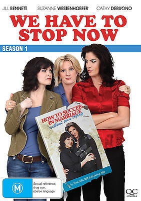 We Have To Stop Now : Season 1 (DVD, 2011) * Lesbian Web Series *