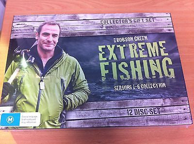 Extreme Fishing with Robson Green Seasons 1, 2, 3, 4 ,5& 6 Collector's Gift Set