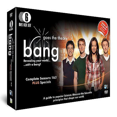 Bang Goes The Theory - Series 1 and 2 (6 Disc) [DVD]  ALL REGIONS BRAND NEW