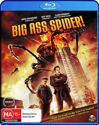 Big Ass Spider! (Blu-ray, 2014) * Greg Grunberg, Ray Wise * Monster Pictures *