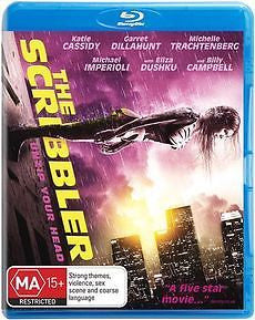 The Scribbler * Katie Cassidy *  (Blu-ray, 2014) Brand New Region B