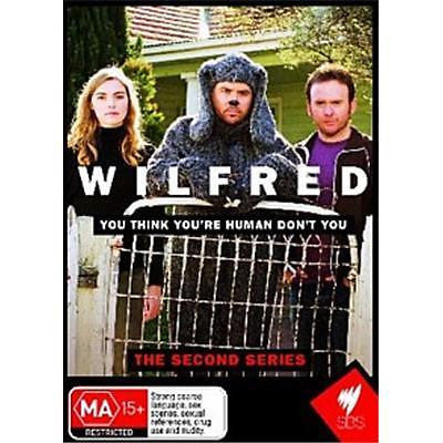 Wilfred : Series 2 (DVD, 2010, 2-Disc Set) LIKE NEW REGION 4