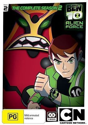Ben 10 Alien Force - The Complete Season 2