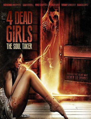 4 DEAD GIRLS: THE SOUL TAKER *  Ashley Love * - NEW ! ( Region 1 )