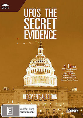 UFOs The Secret Evidence DVD NEW AND SEALED