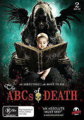 The ABC's Of Death (DVD, 2013) * Monster Pictures *