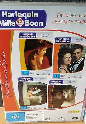 Harlequin - Mills & Boon: The Romance Series - Vol 1 *Quadruple Feature Pack 1*