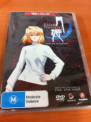 Lunar Legend Tsukihime Collection (DVD, 2006, 3-Disc Set) LIKE NEW
