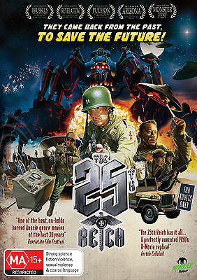 The 25th Reich (DVD, 2013) + Extra Features * Monster Pictures *