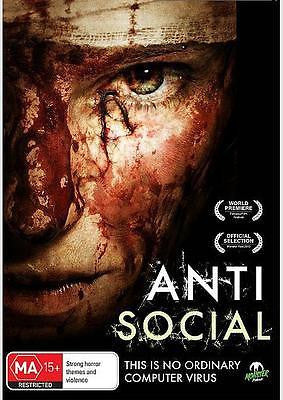 Antisocial (DVD, 2013) * Social Media Zombies * Monster Pictures *