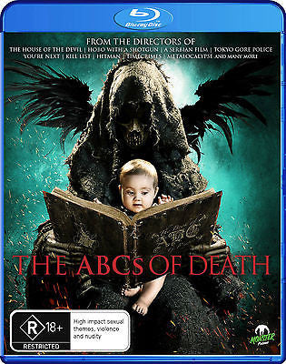 The ABC's Of Death (Blu-ray, 2013) * Monster Pictures *