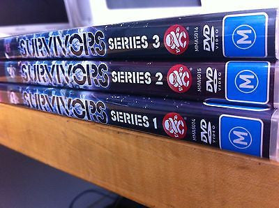 Survivors The Complete Series Collection R4 Season 1+2+3 Like New = 11 Discs