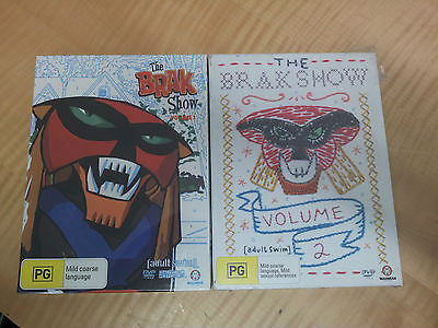 The Brak Show Vol: 1+2 + Extras * 4 Discs * Adult Swim * Madman *