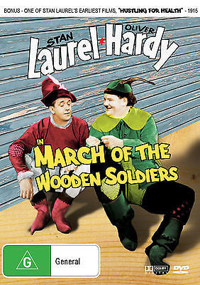Laurel and Hardy in March of the Wooden Soldiers + Extra Short Film