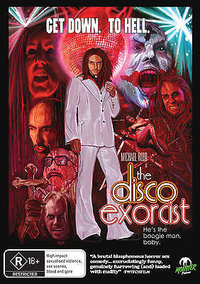 The Disco Exorcist (DVD, 2013) * Monster Pictures *