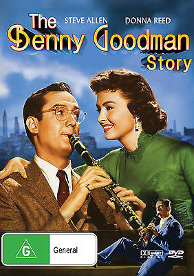 The Benny Goodman Story (1956) * Steve Allen * Donna Reed * Bounty Films *