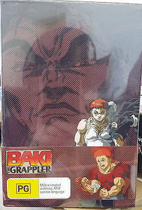 Baki The Grappler - Warrior Reborn & Collector's Box : Vol 1 (DVD, 2006)