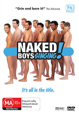 Naked Boys Singing! (DVD, 2008) + Extra Features * Queer Cinema *