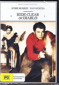 Ride Clear Of Diablo (1954)  * Audie Murphy * Susan Cabot * Western Classic!