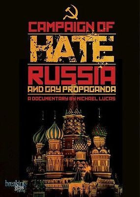 Campaign of Hate: Russia and Gay Propaganda (2014, DVD) * Queer Culture Cinema*