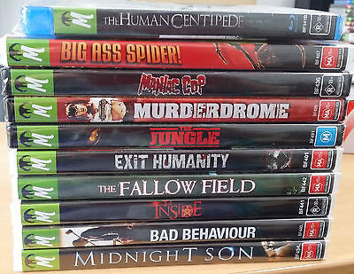 Monster Pictures Bulk Lot 4 *Human Centipede, Big Ass Spider! and More!*