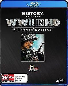 WWII Lost Films - WWII In HD (Blu-ray, 2012, 4-Disc Set) *Ultimate Edition*
