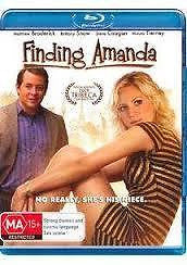 FINDING AMANDA matthew broderick BLU-RAY NEW incl track & signature on delivery