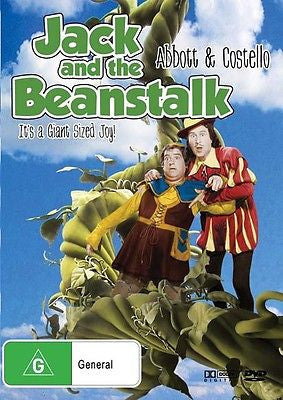 Jack and the Beanstalk - Starring Bud ABbot, Lou Costello, William Farnum & more