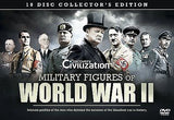 Military Figures Of World War 2 - 10 Disc Collection [DVD] ALL REGIONS BRAND NEW