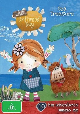 Lily's Driftwood Bay - Sea Treasure : Vol 1 (DVD, 2014) BRAND NEW