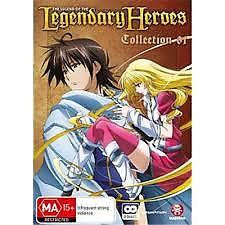 Legend of the Legendary Heroes Collection 1 DVD ( Anime )