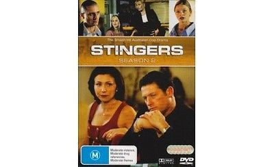 Stingers : Season 2 * Australian TV Series * (DVD, 2007, 6-Disc Set) Like New