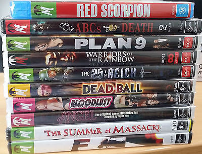 Monster Pictures Bulk Lot 5 *Red Scorpion, the ABCs of Death, Plan 9 & More!*